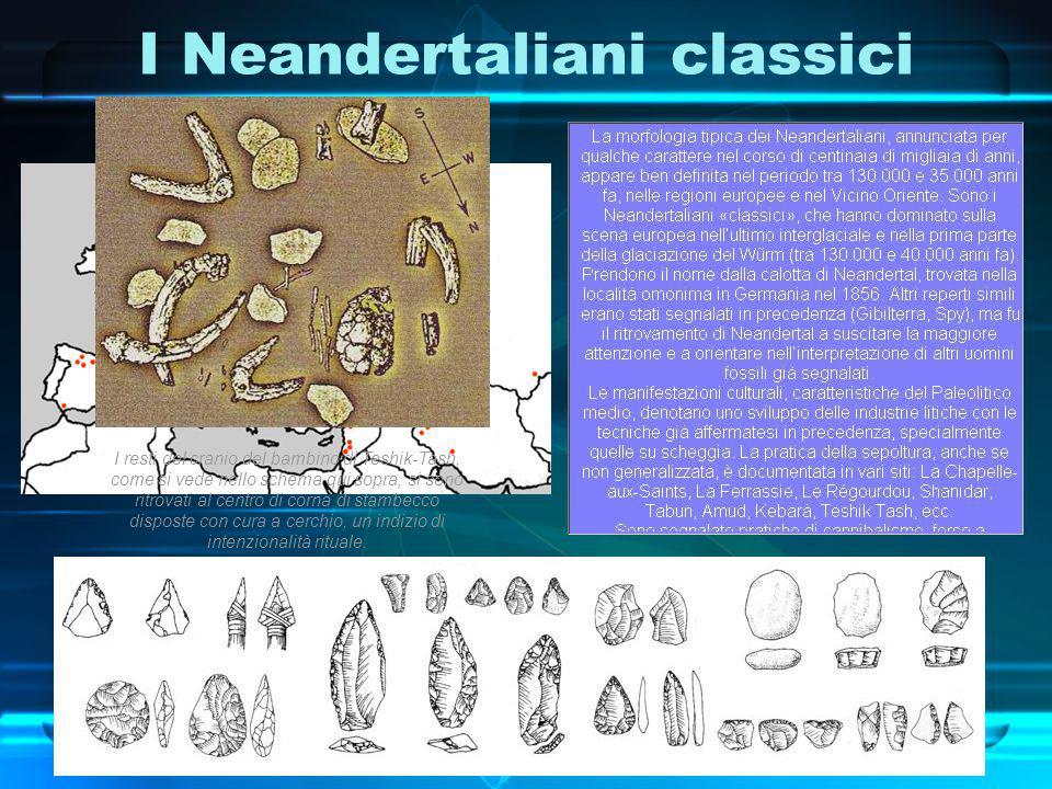 I Neandertaliani classici
