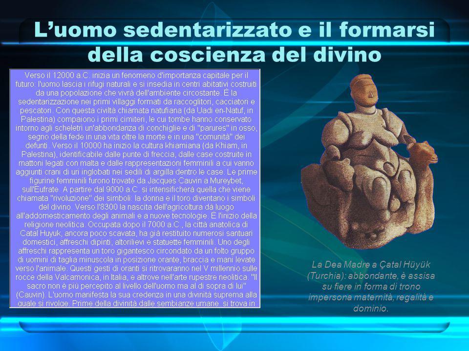 L'uomo sedentarizzato e il formarsi della coscienza del divino
