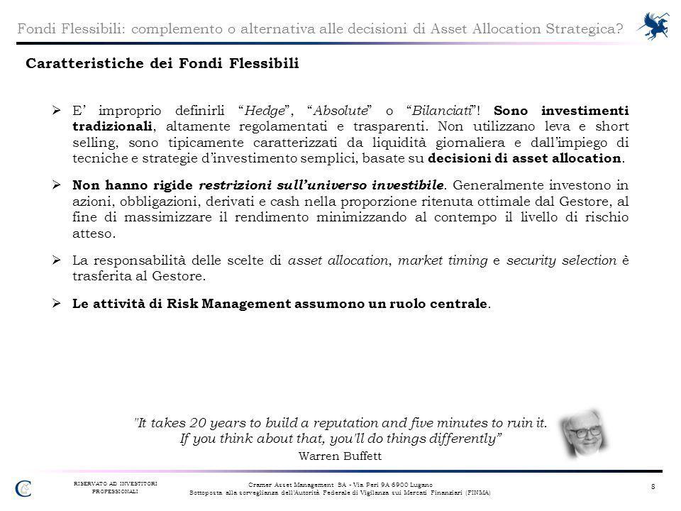 Caratteristiche dei Fondi Flessibili