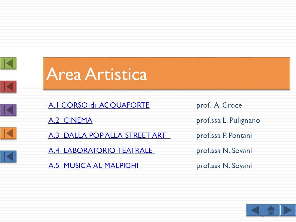 Area Artistica A.1 CORSO di ACQUAFORTE prof. A. Croce