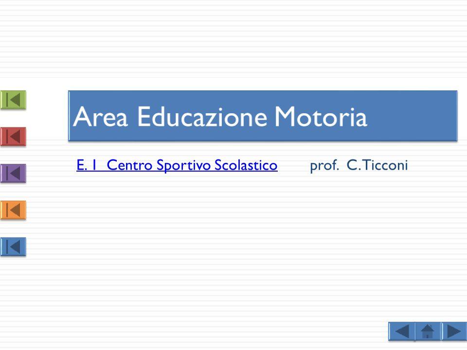 Area Educazione Motoria