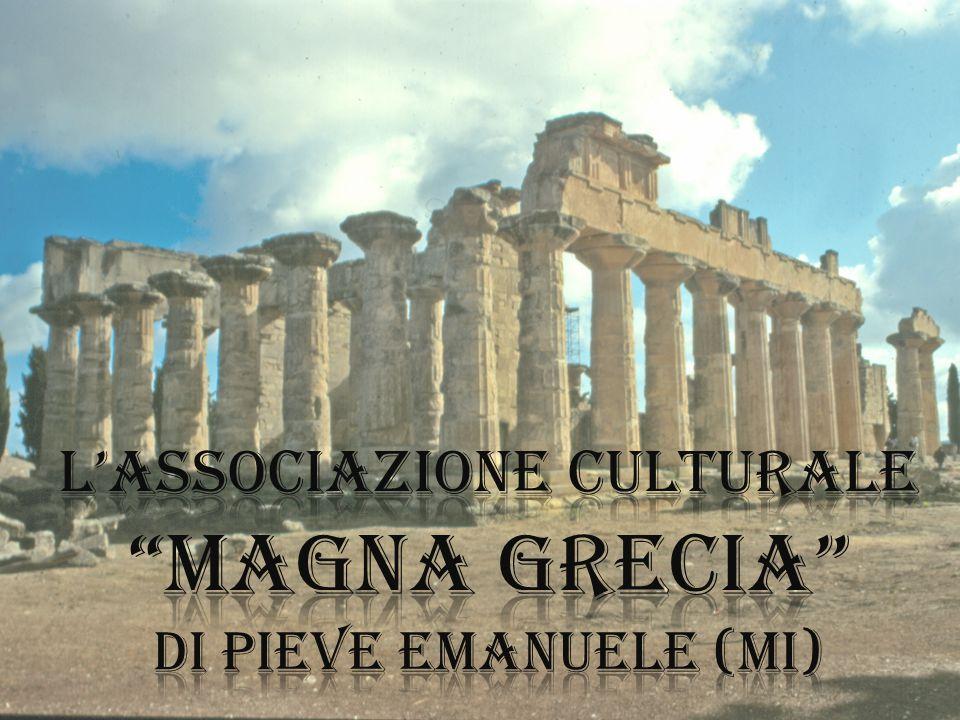 L'associazione culturale magna grecia di Pieve emanuele (MI)