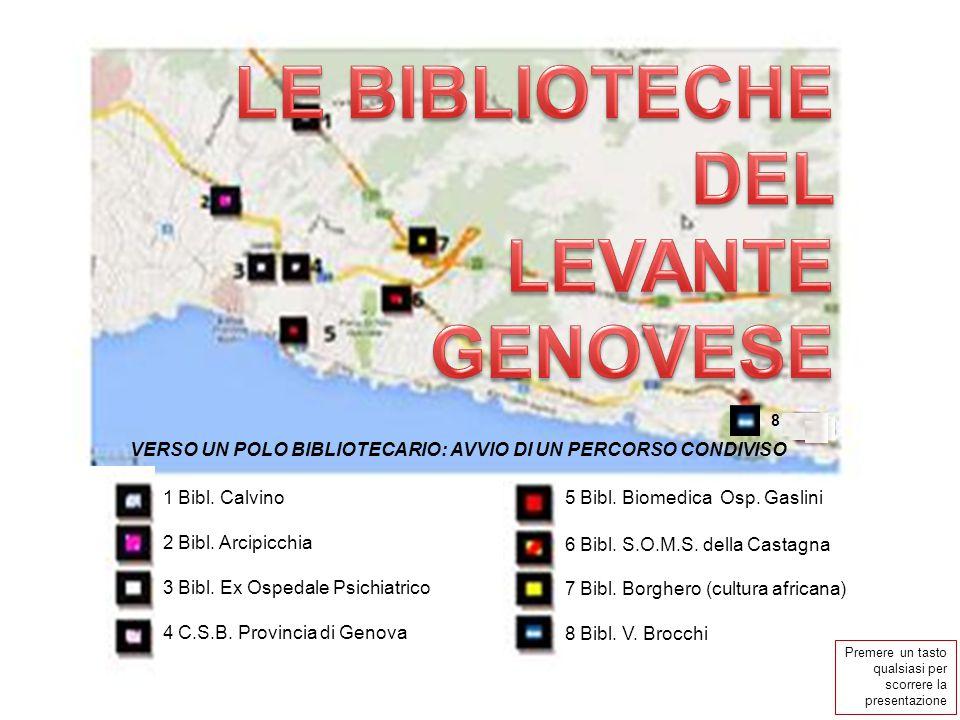 LE BIBLIOTECHE DEL LEVANTE GENOVESE