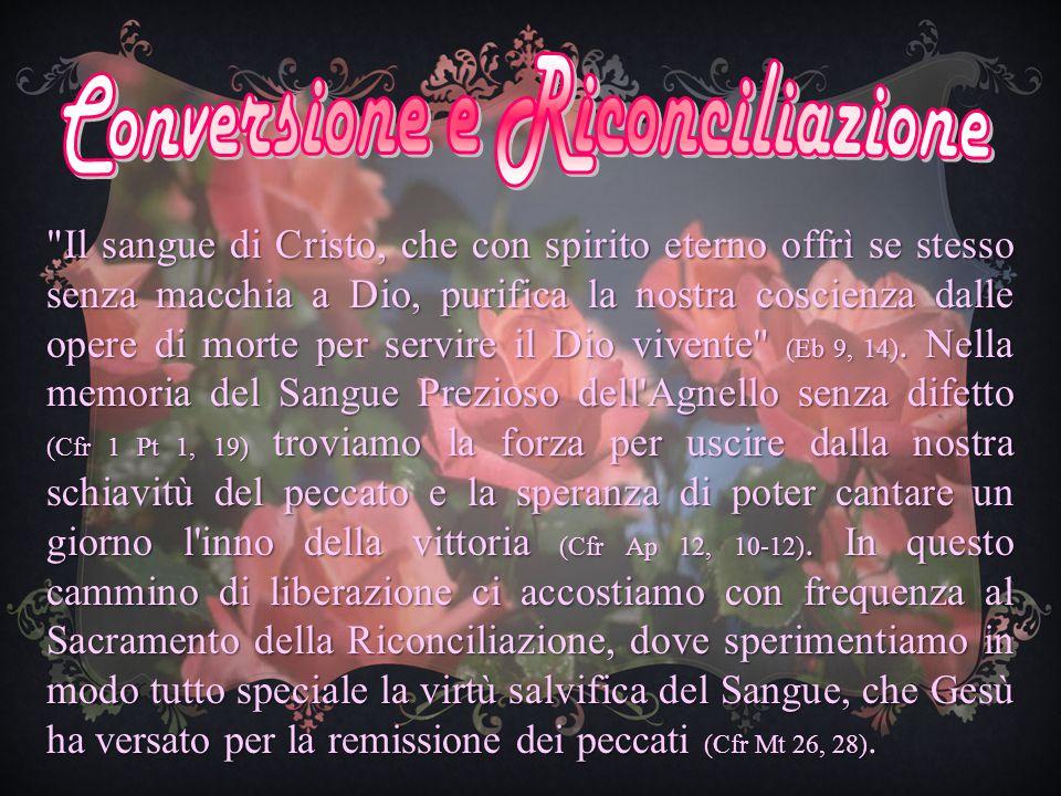Conversione e Riconciliazione