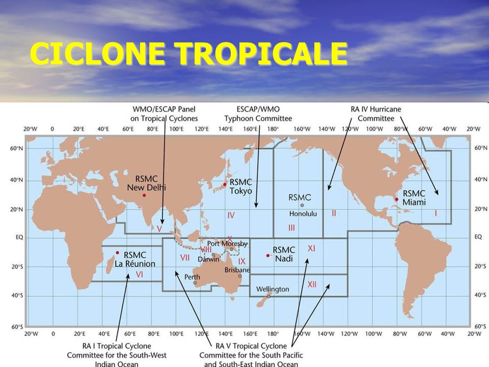 CICLONE TROPICALE