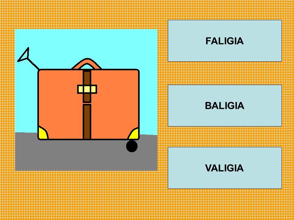 FALIGIA BALIGIA VALIGIA
