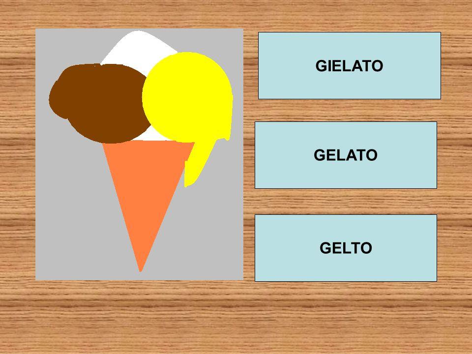 GIELATO GELATO GELTO