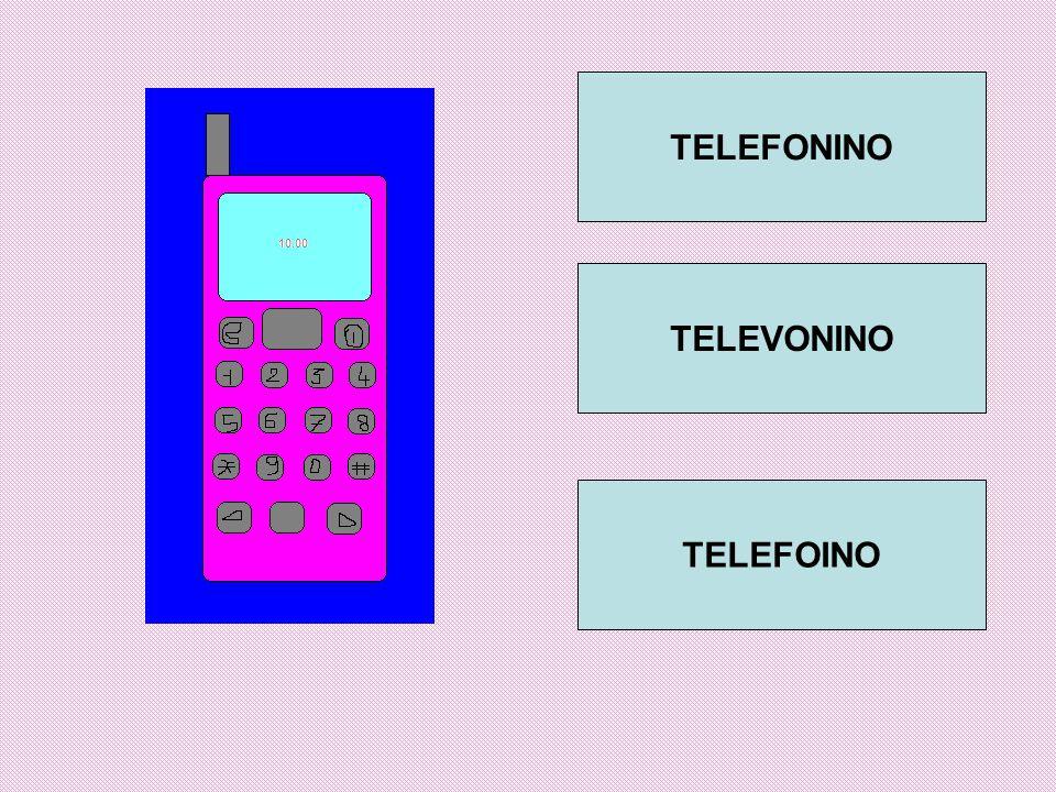 TELEFONINO TELEVONINO TELEFOINO