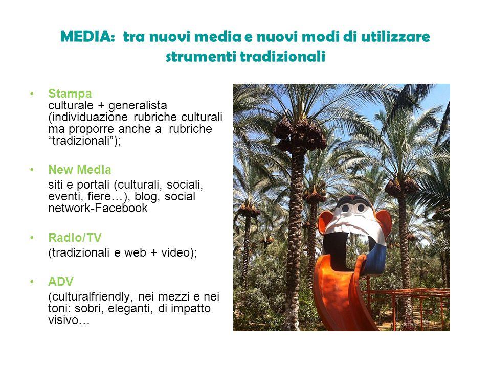MEDIA: tra nuovi media e nuovi modi di utilizzare strumenti tradizionali