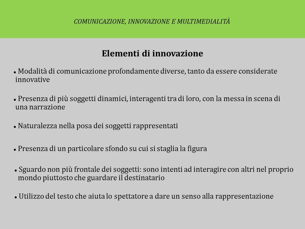 Elementi di innovazione