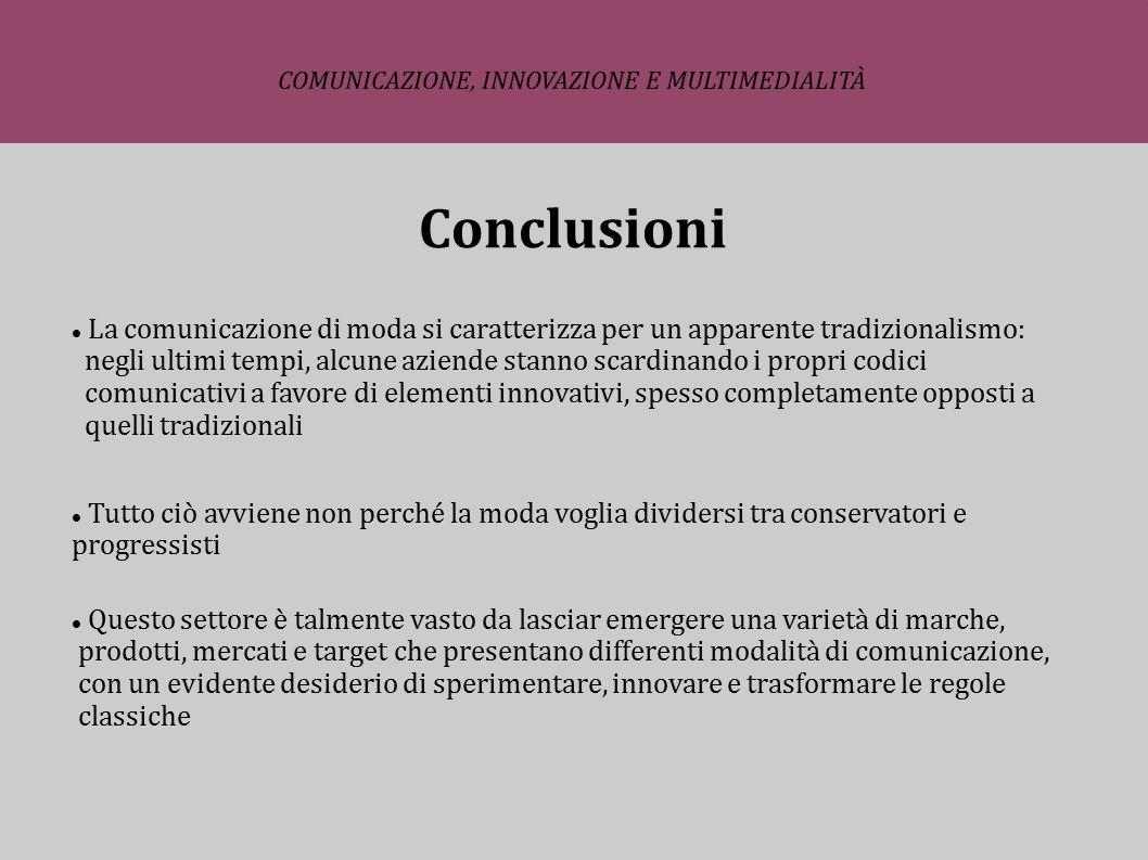 COMUNICAZIONE, INNOVAZIONE E MULTIMEDIALITÀ