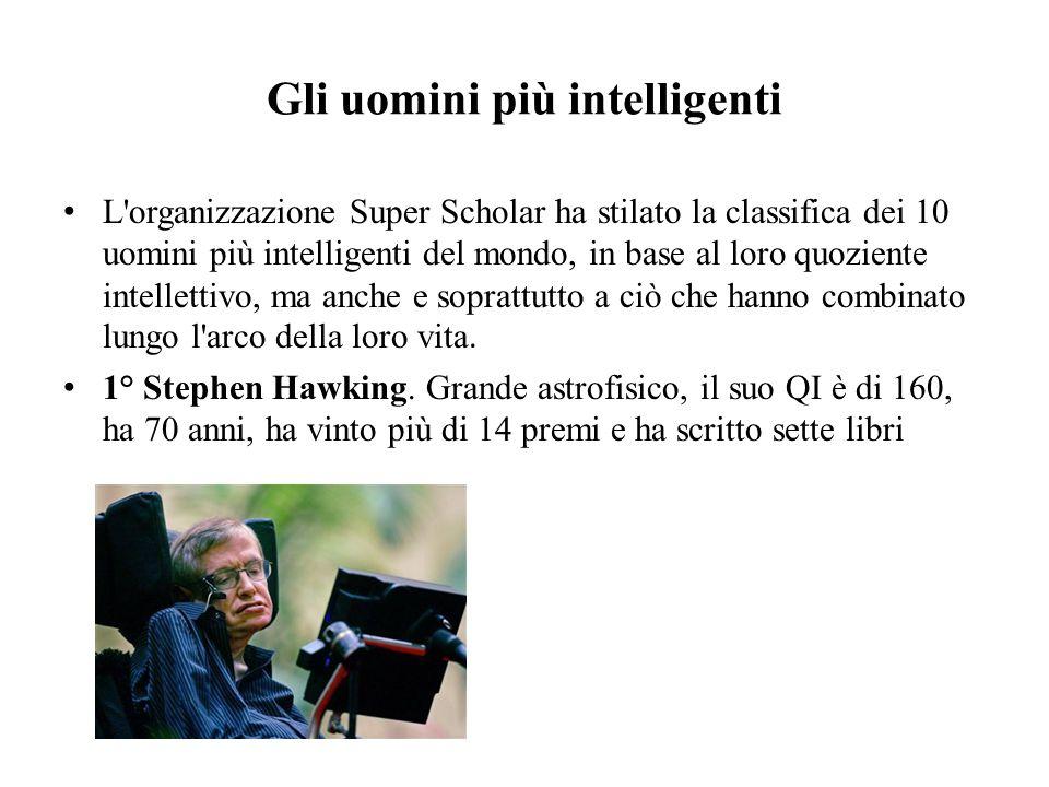 Gli uomini più intelligenti