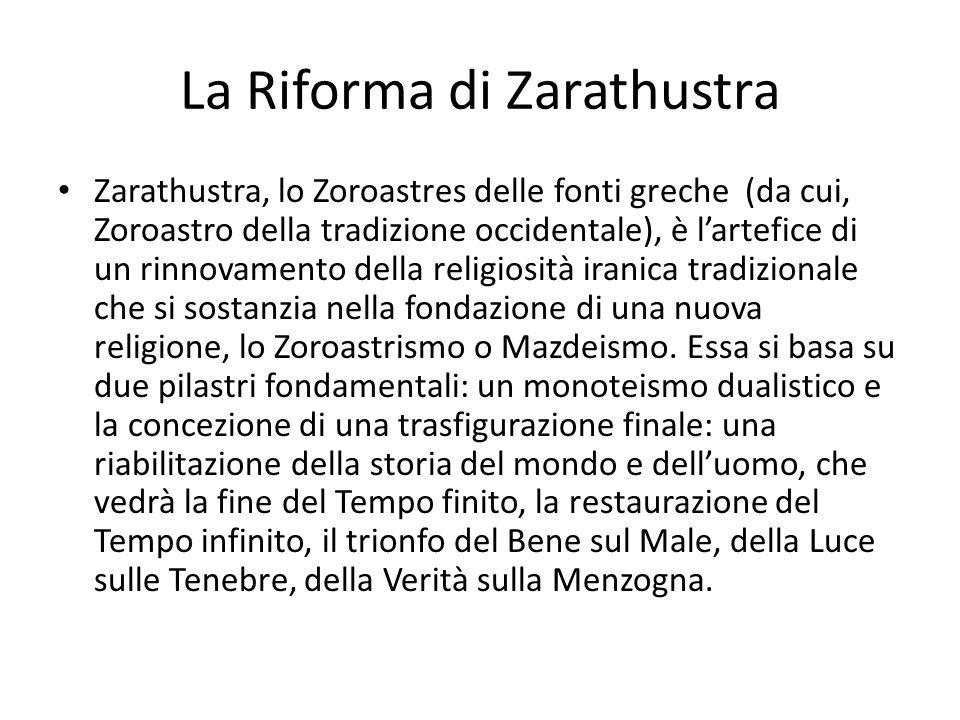 La Riforma di Zarathustra