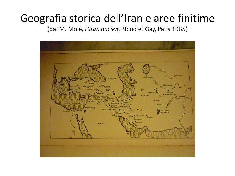 Geografia storica dell'Iran e aree finitime (da: M