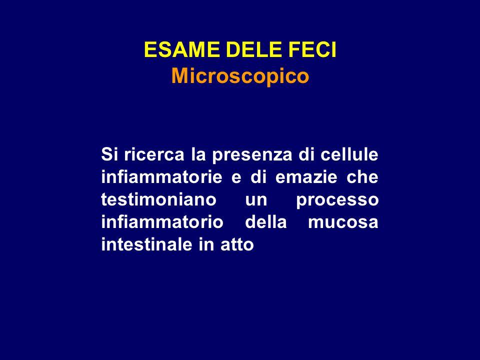 ESAME DELE FECI Microscopico