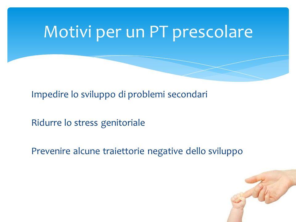 Motivi per un PT prescolare