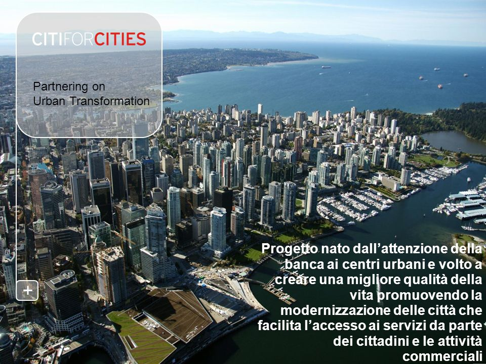 +Partnering on Urban Transformation.