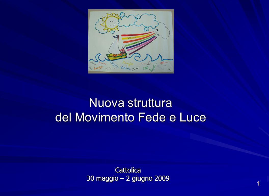 Nuova struttura del Movimento Fede e Luce