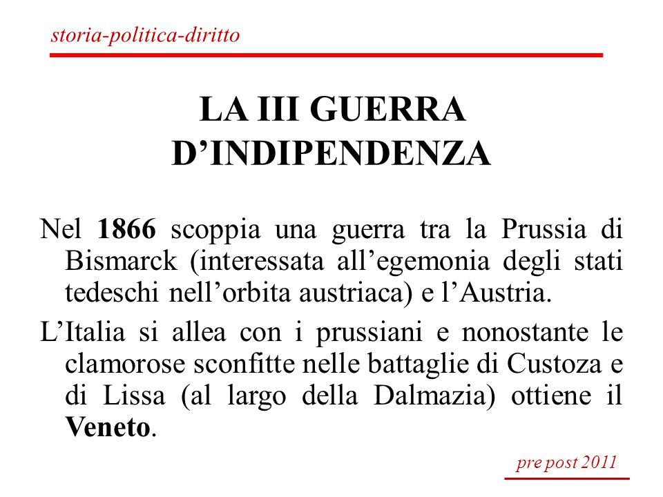 LA III GUERRA D'INDIPENDENZA