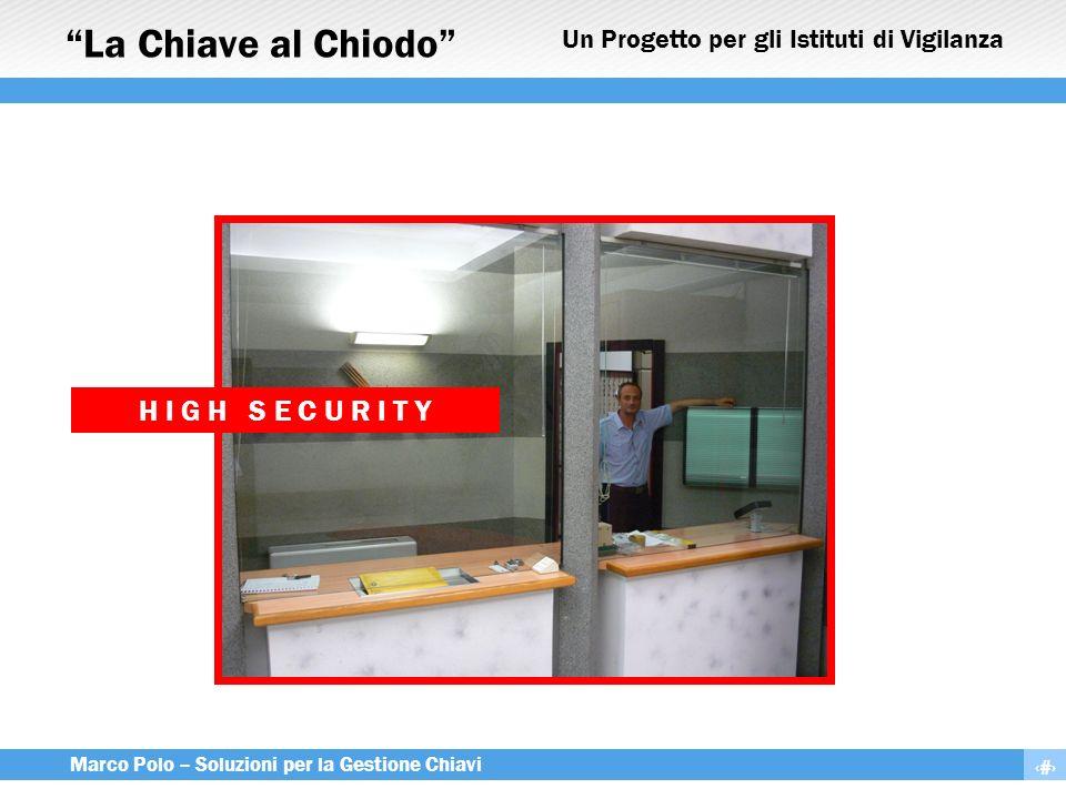 Un Progetto per gli Istituti di Vigilanza