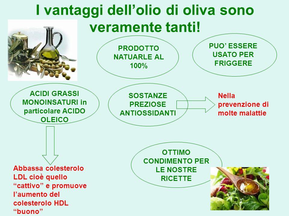 I vantaggi dell'olio di oliva sono veramente tanti!