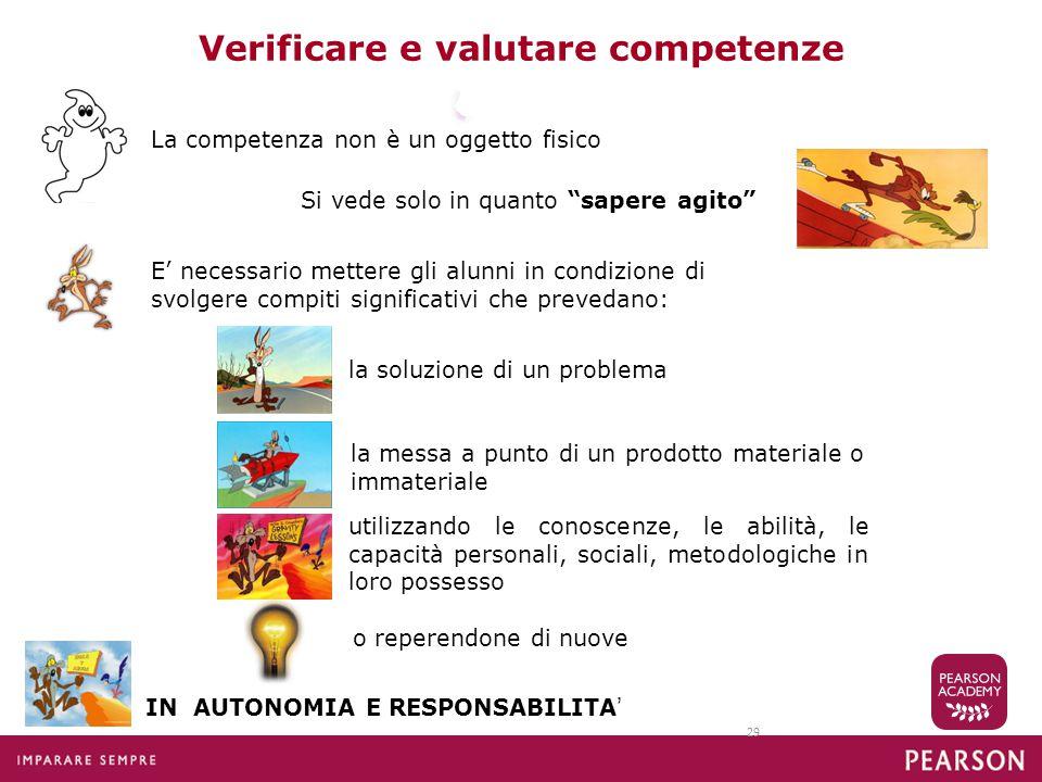 Verificare e valutare competenze