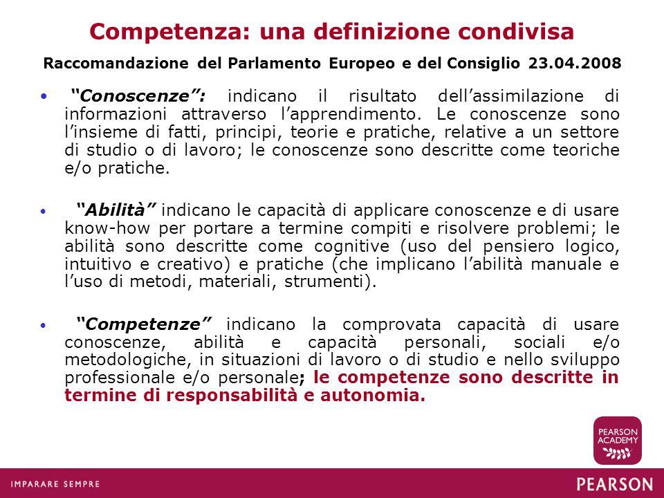 Competenza: una definizione condivisa
