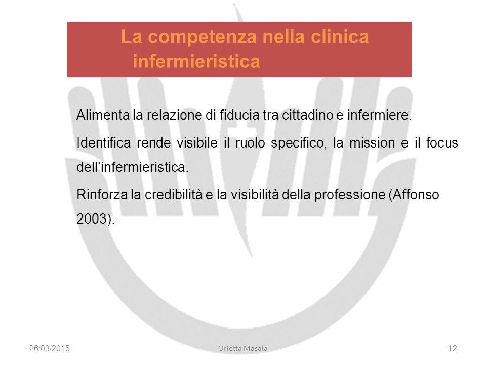 La competenza nella clinica infermieristica
