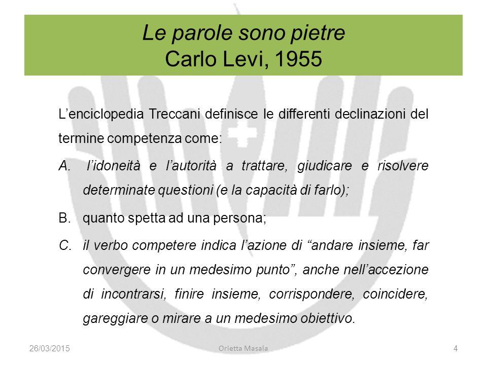 Le parole sono pietre Carlo Levi, 1955