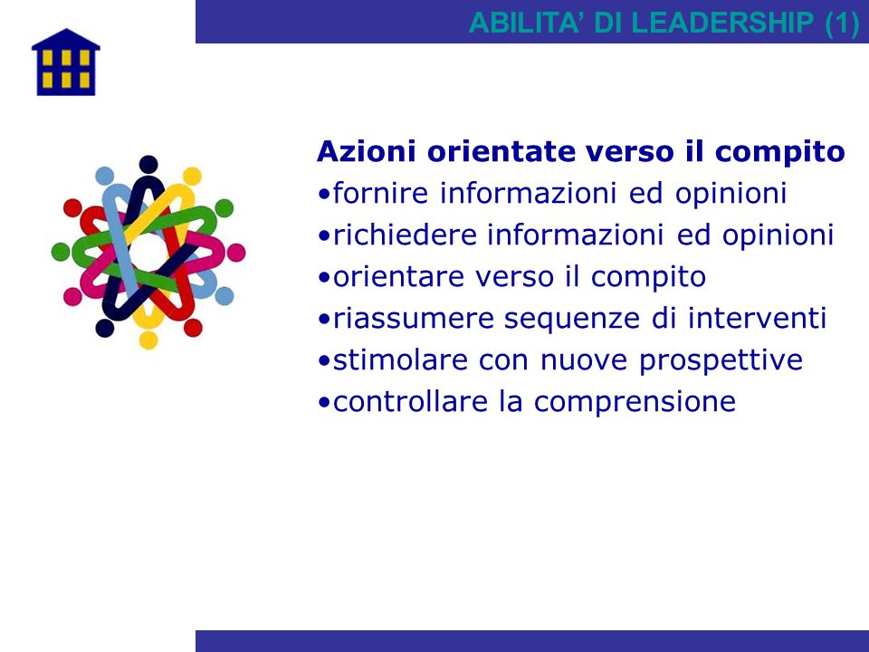 ABILITA' DI LEADERSHIP (1)