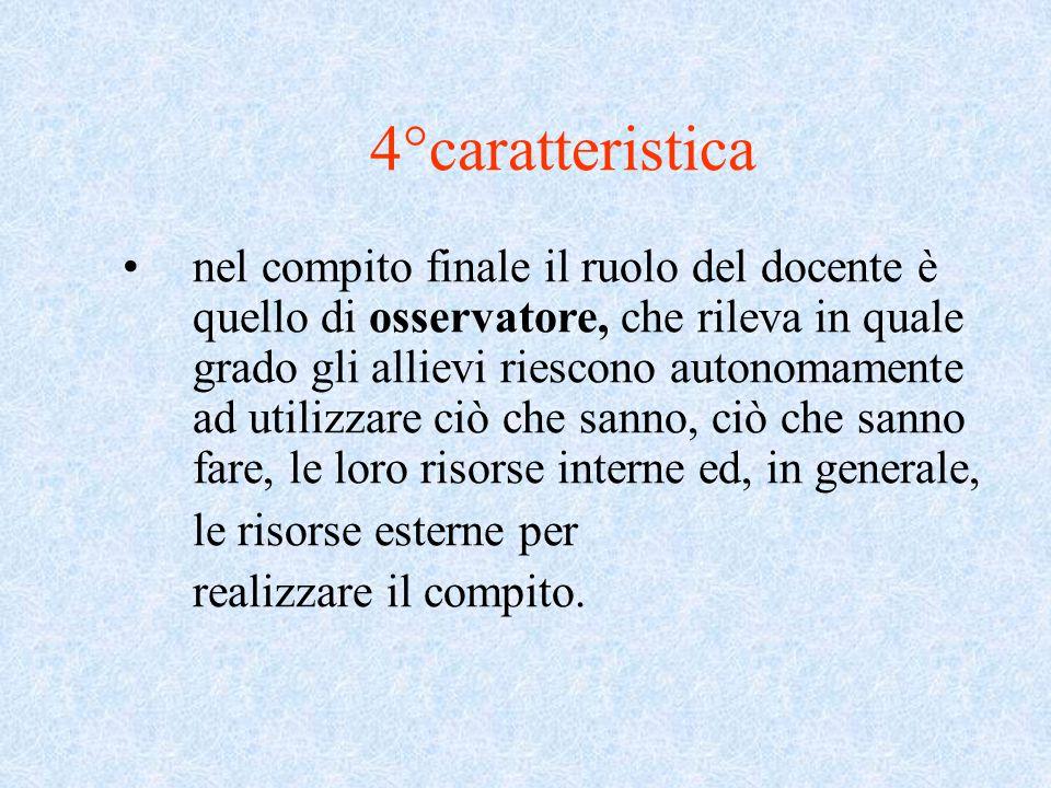 4°caratteristica
