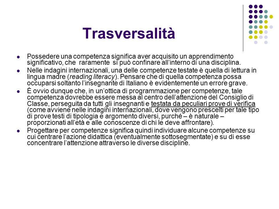 Trasversalità