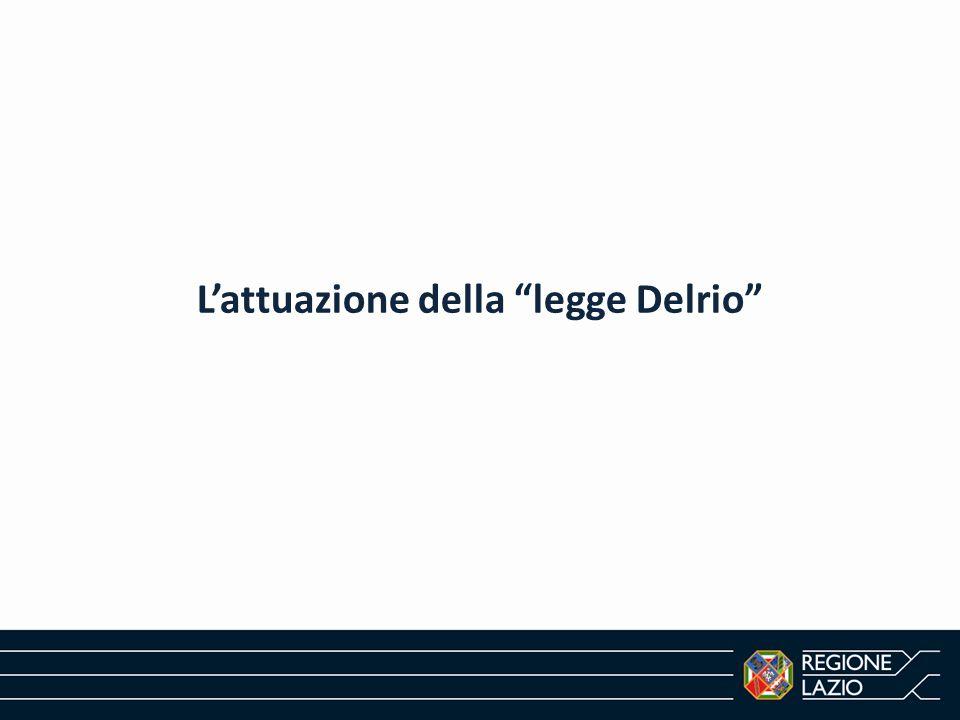 L'attuazione della legge Delrio