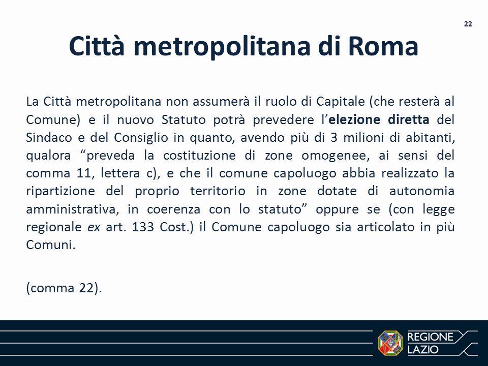 Città metropolitana di Roma