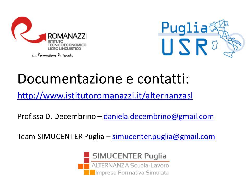Documentazione e contatti: