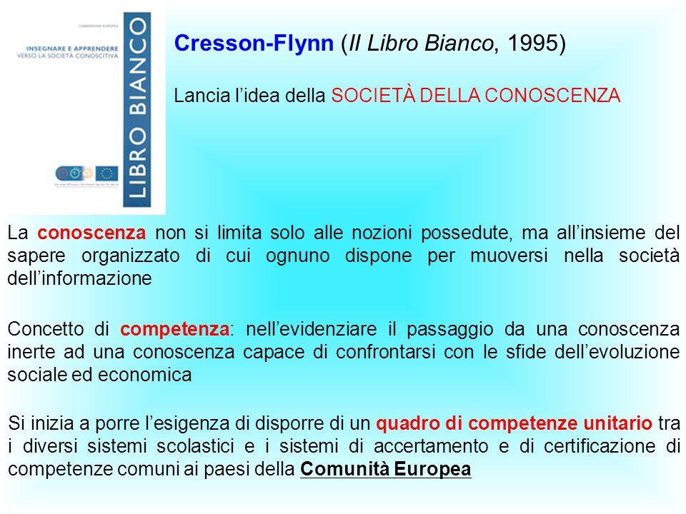 Cresson-Flynn (II Libro Bianco, 1995)