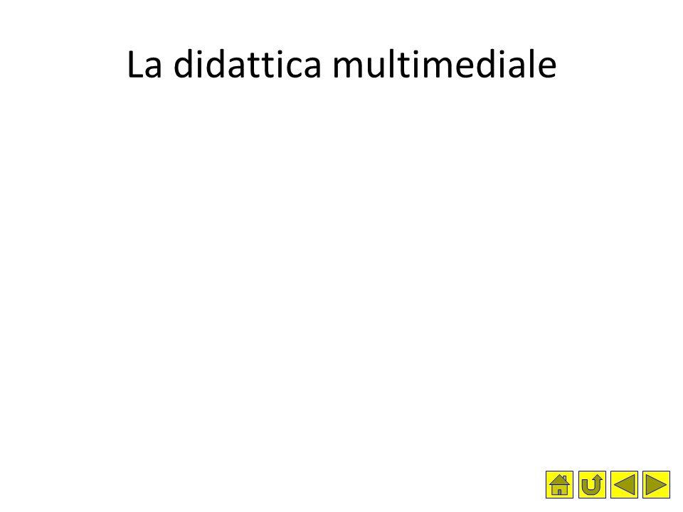 La didattica multimediale