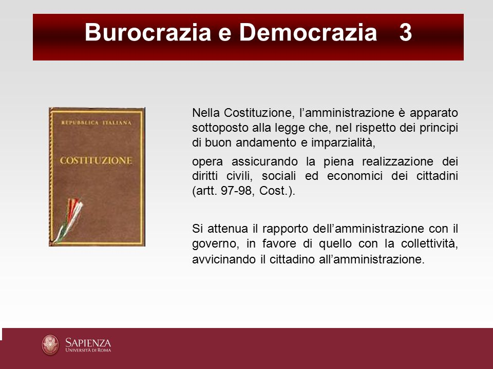 Burocrazia e Democrazia 3