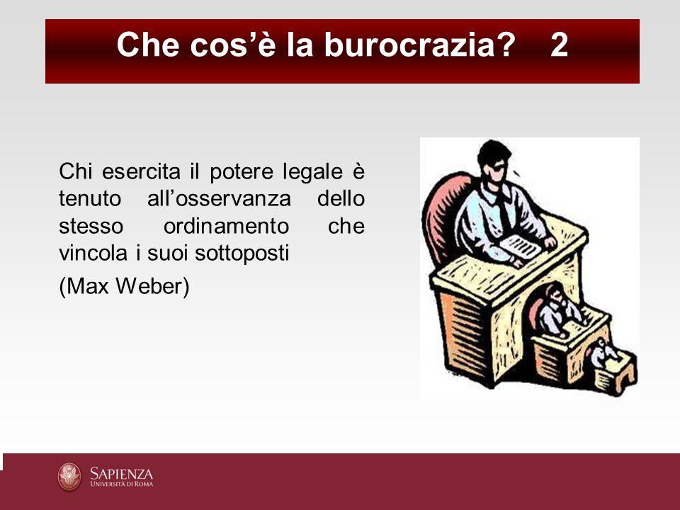 Che cos'è la burocrazia 2
