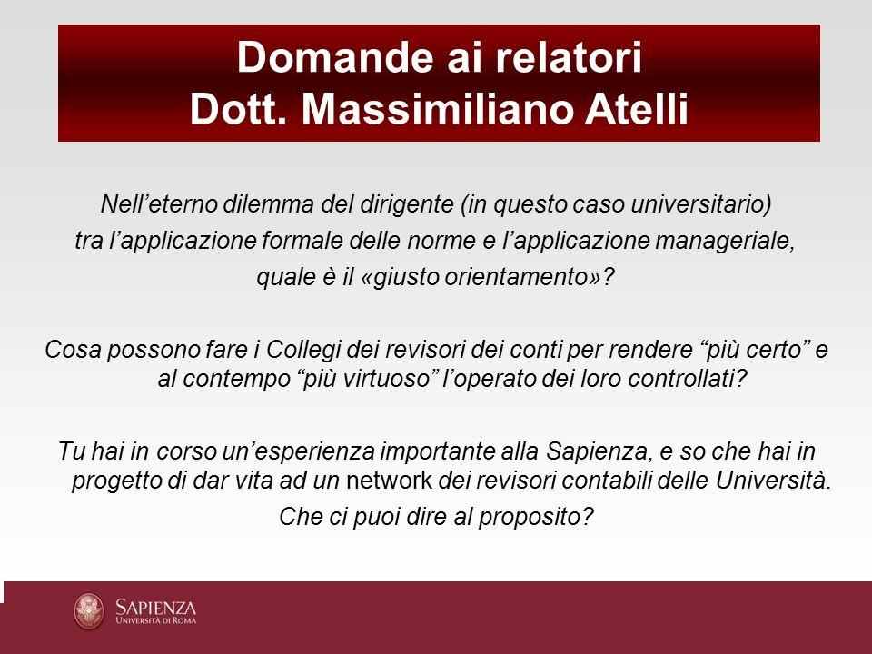 Dott. Massimiliano Atelli