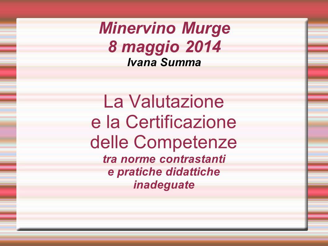 Minervino Murge 8 maggio 2014 Ivana Summa