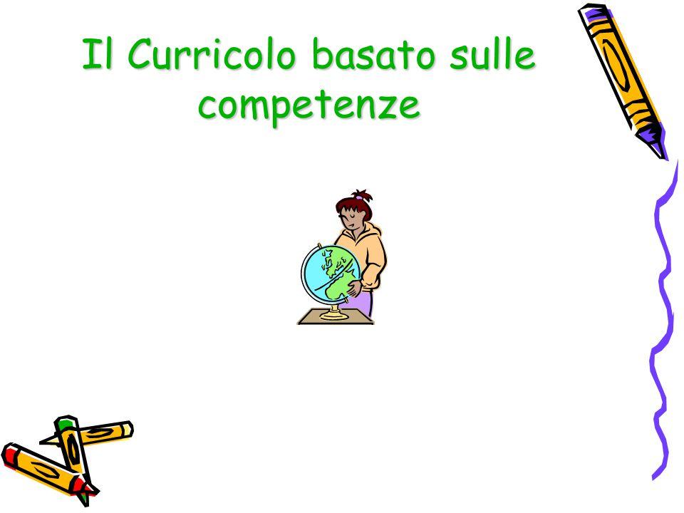 Il Curricolo basato sulle competenze