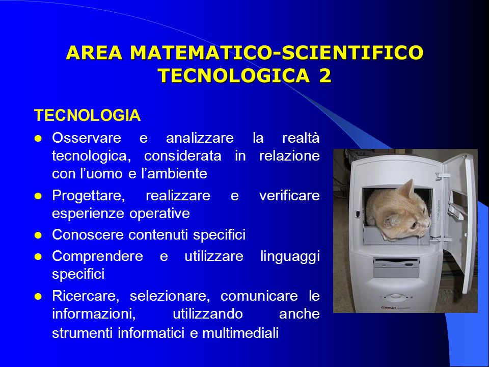 AREA MATEMATICO-SCIENTIFICO TECNOLOGICA 2