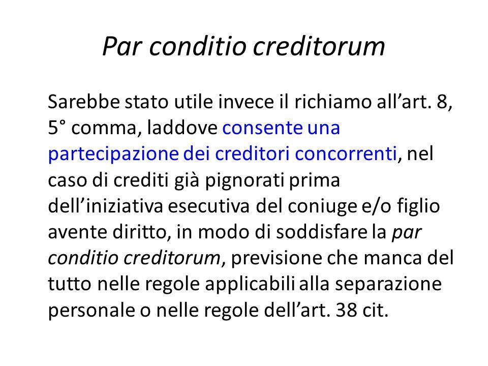 Par conditio creditorum