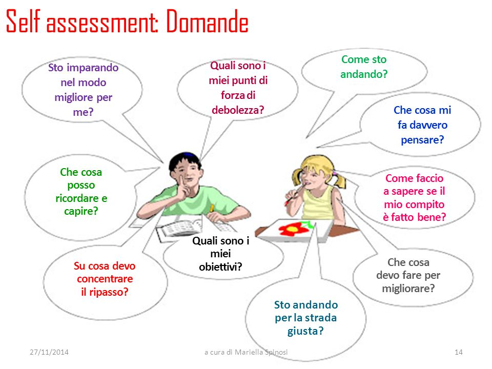 Self assessment: Domande