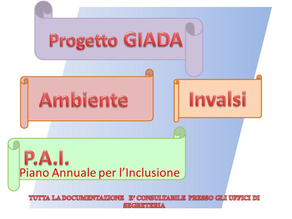 Ambiente Invalsi P.A.I. Progetto GIADA Piano Annuale per l'Inclusione