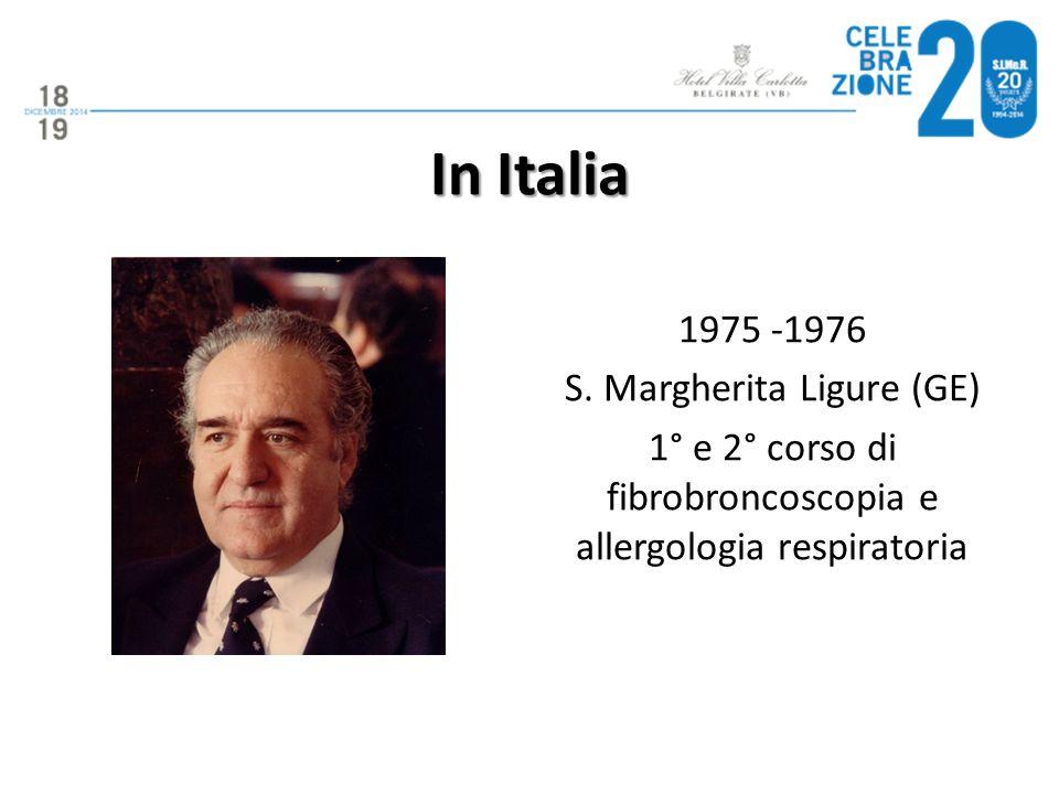 In Italia 1975 -1976 S.