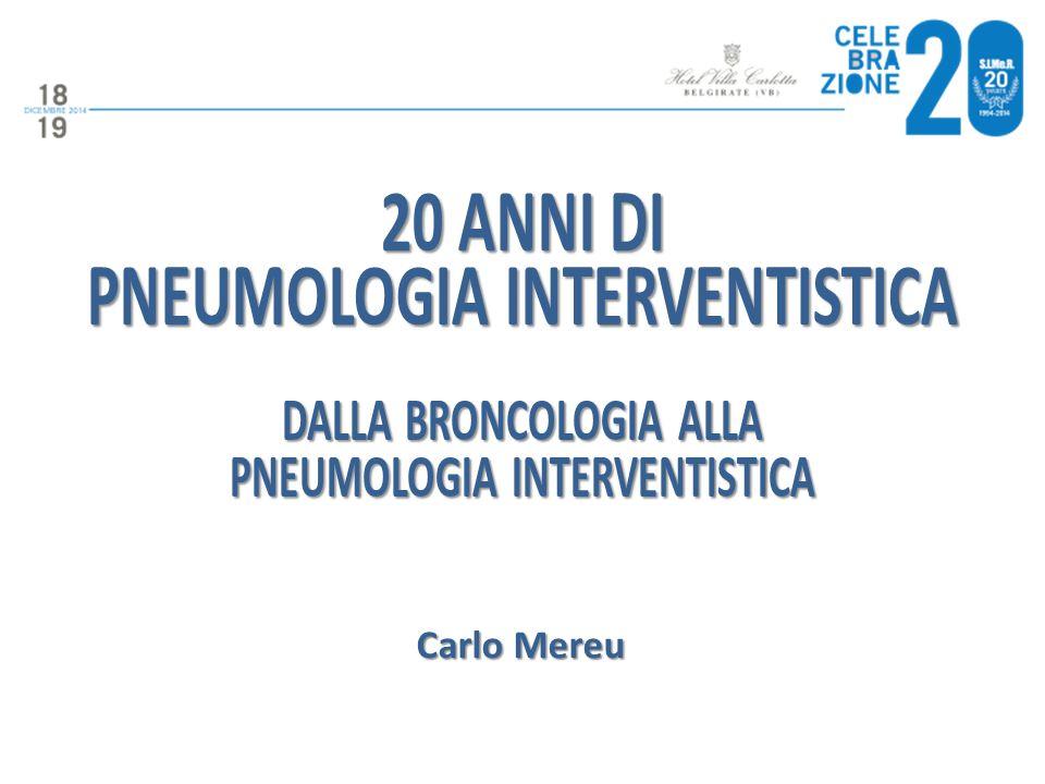 20 anni di pneumologia interventistica