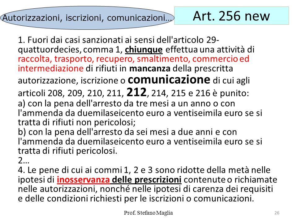 Autorizzazioni, iscrizioni, comunicazioni…