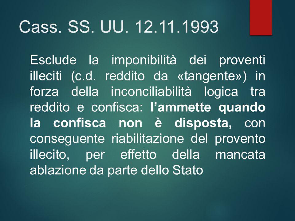 Cass. SS. UU. 12.11.1993